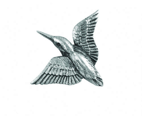 Kingfisher Pin